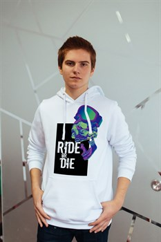 """Худи """"Ride or die"""" - фото 4788"""